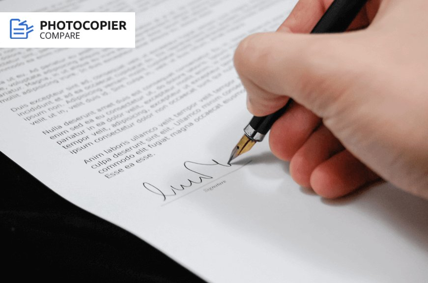 photocopier rental contract